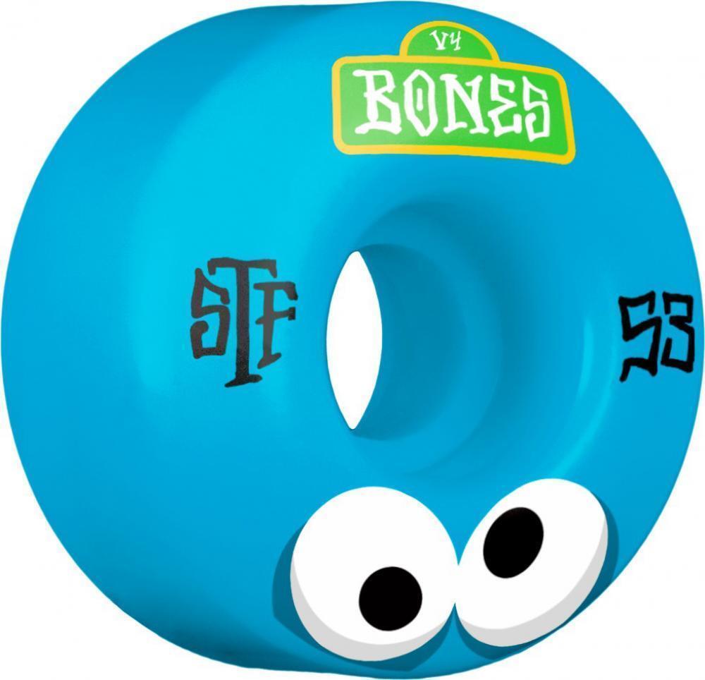 Rib Bones  53mm Ruedas, Stf Googly Azul V4  Precio al por mayor y calidad confiable.