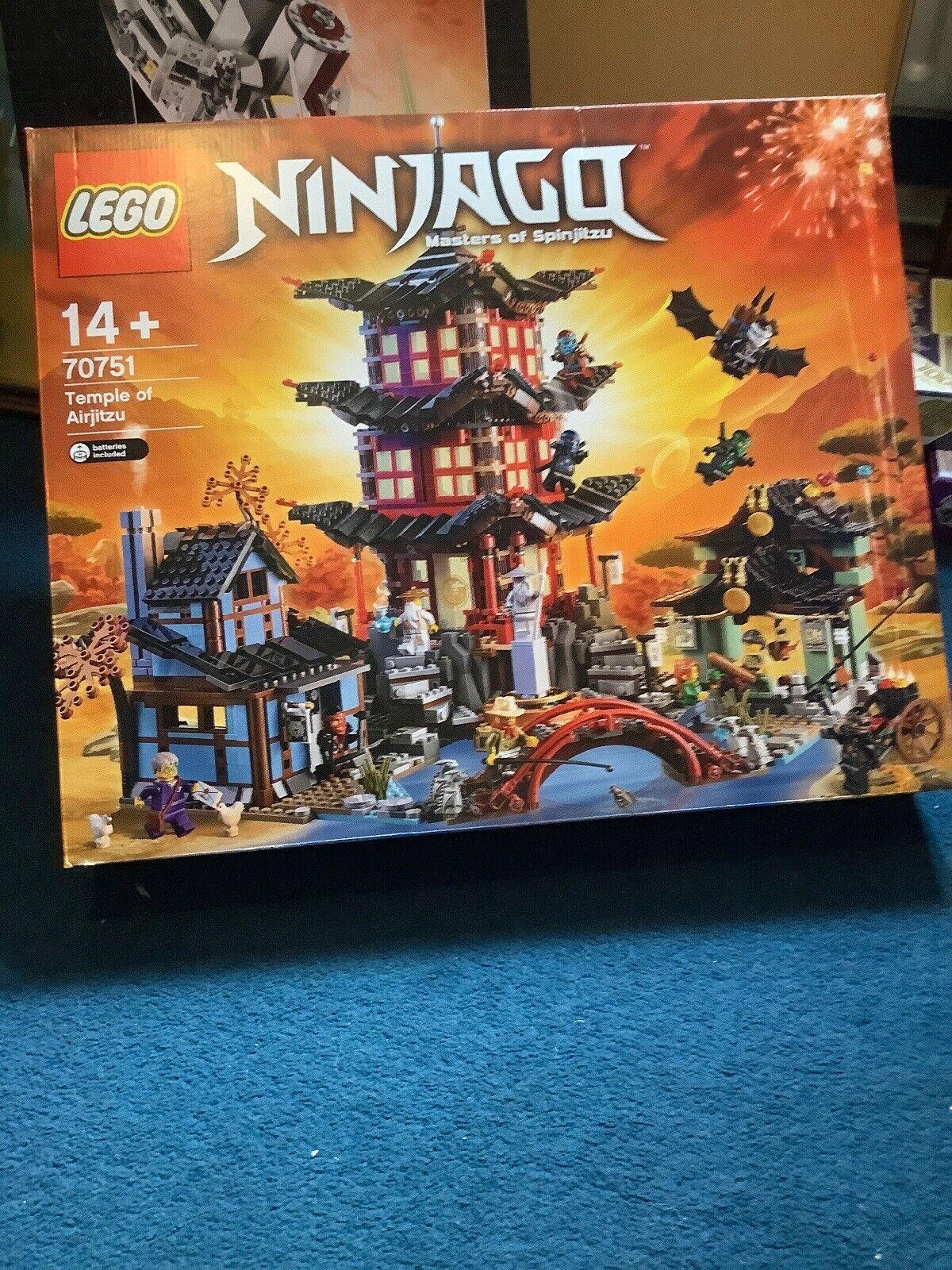 Nuevo templo sellado de Lego ninjago airjitzu - 70751