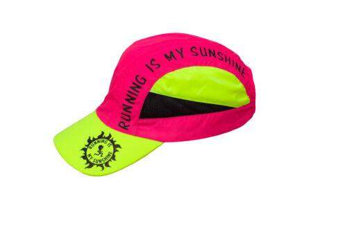 Running Cap RUNNING IS MY SUNSHINE Light-Weight Reflective Wear High-Tech