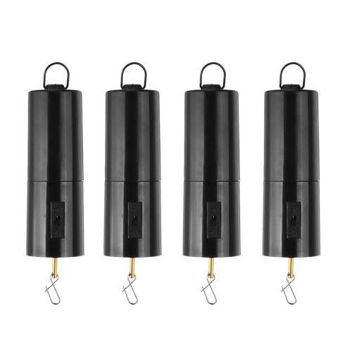 4 Pack Battery Operated Whirligig Wind Spinner Rotating Motor 30RPM Decor