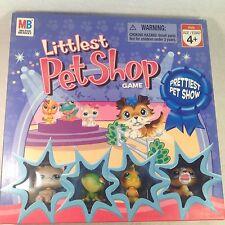 LITTLEST PET SHOP GAME PRETTIEST PET SHOW 2007 4 EXCLUSIVE FIGURES 100% COMPLETE