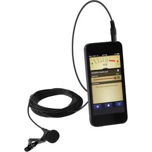 Details about EXTERNAL CLIP ON MICROPHONE for SMARTPHONE ANDROID IPHONE  AUDIO/VIDEO CAMERA APP