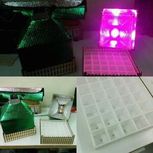 Germination led wood box Seeds indoor serra con led per semi grow box QHqTMRU2-07213221-659797965