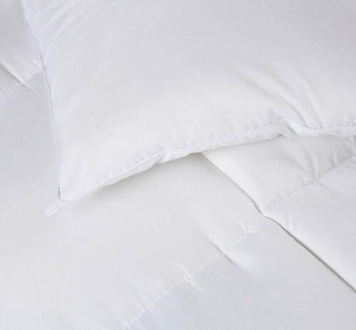 Comforter Duvet Insert White Quilted Down Alternative Box Design Wholesale Lot