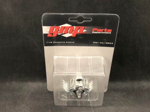 GMP 18853 1:18 Scale Dragster Engine New in Package Free Shipping