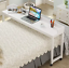 tribesigns overbed table with wheels, unadjustable queen size mobile desk