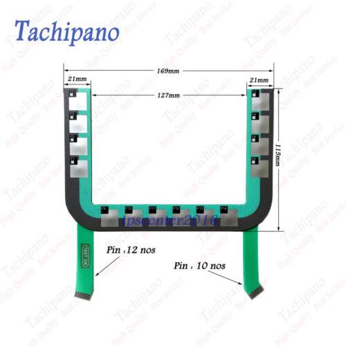Membrane keypad for 6AV6645-0BB01-0AX0 6AV6 645-0BB01-0AX0 MOBILE PANEL 177 PN