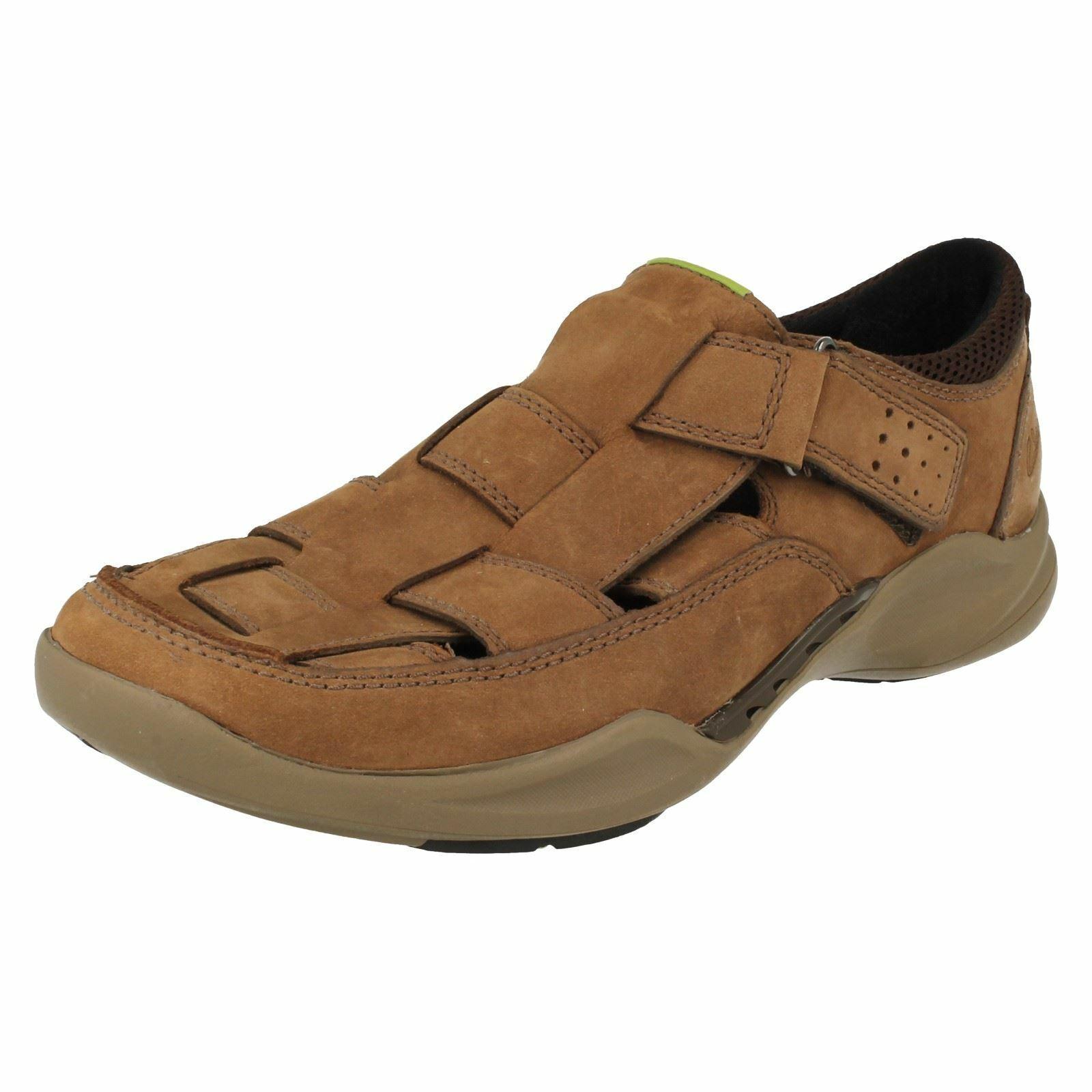 Mens Clarks Wave Walk Closed Toe Sandals - Wave Breeze
