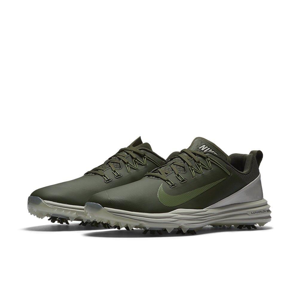 Zapatos Command de golf Nike Lunar Command Zapatos 2 849968-300 cargo Khaki gran presente reducción de precio d5cf30