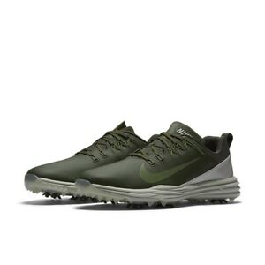 952ea789b17 NEW Nike Lunar Command 2 Mens Golf Shoes Cargo Khaki Palm Green ...