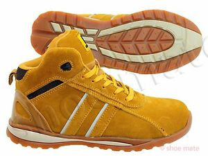 new styles e6d2e 81a58 Details about PPE MENS ULTRA LIGHTWEIGHT STEEL TOE CAP SAFETY ANKLE WORK  BOOTS SHOES TRAINERS