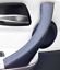 thumbnail 1 - Door Handle Cover Carbon Fiber Leather for BMW 3 E90 E91 E92 E93 M/// Sport LEFT