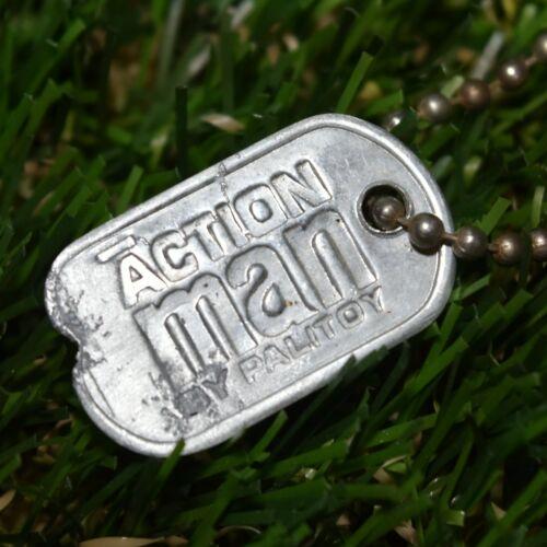 Action Man VAM Palitoy Rare Original Metal Dog Tag c1964-70 1//6th Scale