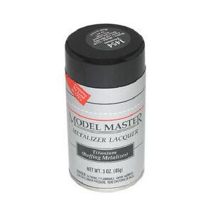 Testors Model Master Titanium Buffing Metal Enamel Spray Paint Can 3 Oz 1454 Ebay