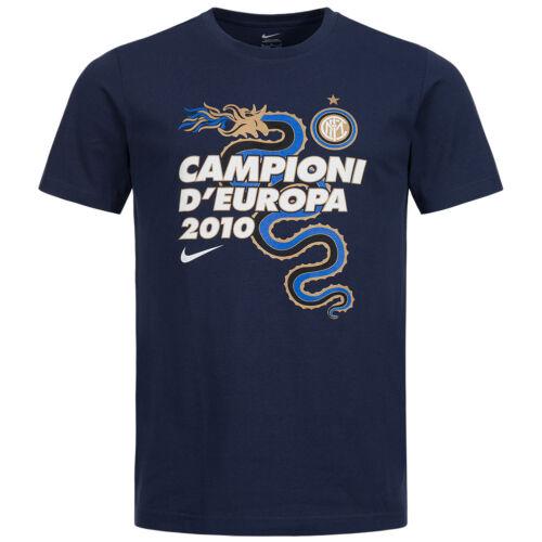 Inter Mailand Nike Herren T-Shirt 432992-410 Italien Serie A Fan Tee Fußball neu