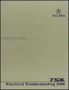 2006 acura tsx electrical troubleshooting manual wiring. Black Bedroom Furniture Sets. Home Design Ideas