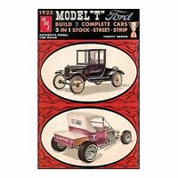 Ford 1925 Tall T Model Kit 1:25 Scale Model Kit By Round 2 Models