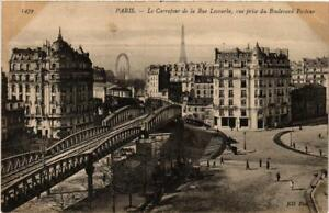 CPA PARIS 14e Carrefour de la Rue Lecourbe. vue prise du Bd Pasteur (535953)