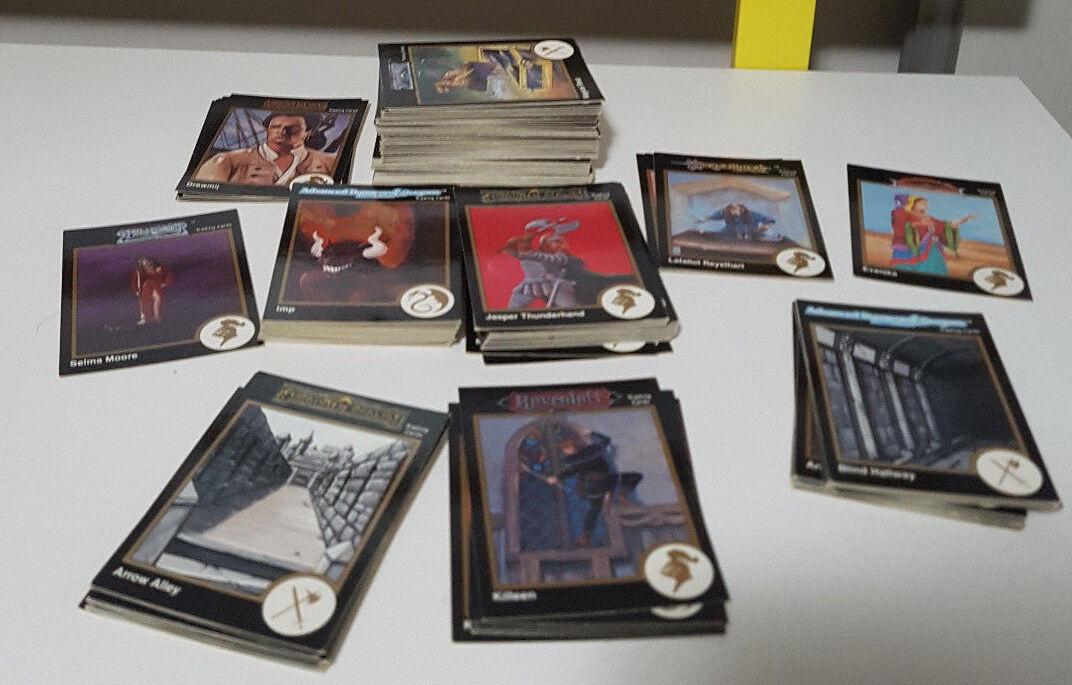ROLEPLAY TRADING CARDS MIXED LOT  FORGOTTEN REALMS grauHAWK ADVENTURES RAVENLOFT