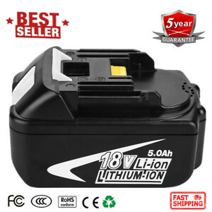 18V-5-0Ah-LITHIUM-ION-BATTERY-LXT-FOR-MAKITA-BL1860-BL1830-BL1840-Power-Tool