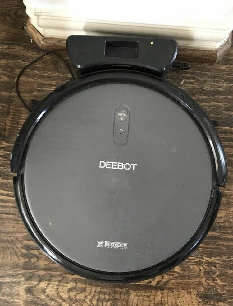 Ecovacs Deebot N79S Robot Vacuum Cleaner with Maximum Power Suction - Brown