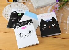 4 x Booklets Cute Kitten Cat Pad Fun Kids stationary Memo Note Book