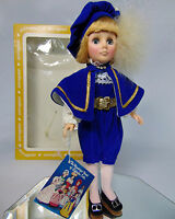 Boxed 1976 Effanbee 11 Prince Charming Doll Boy Child Royal Blue Clothes Shoes