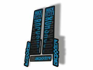 Rock Shox BOXXER 2018 Mountain Bike Cycling Decal Kit Sticker Adhesive Red