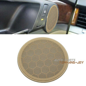 new 2pcs beige door speaker cover grill for vw passat b5 99 05 jetta mk4 golf ebay. Black Bedroom Furniture Sets. Home Design Ideas