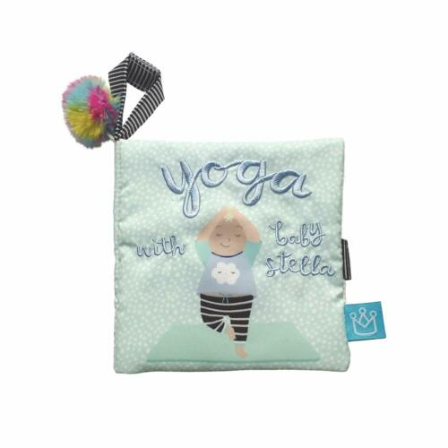 Manhattan Toy Baby Stella Yoga Soft Book and Baby Doll Accessory