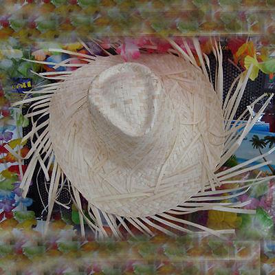 Amabile Cappello Sombrero Paglia Spiaggia Mare Estate Lido Festa Party Morbido E Leggero