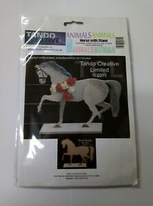 Tando Creative Animaux Cheval Avec Support Laser Cut Board-afficher Le Titre D'origine Qpmzcz3r-10040728-992384135