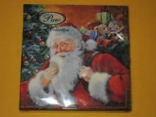 1 Packung 20 Servietten smiling SANTA Claus Weihnachtsmann Weihnachtens xmas PAW