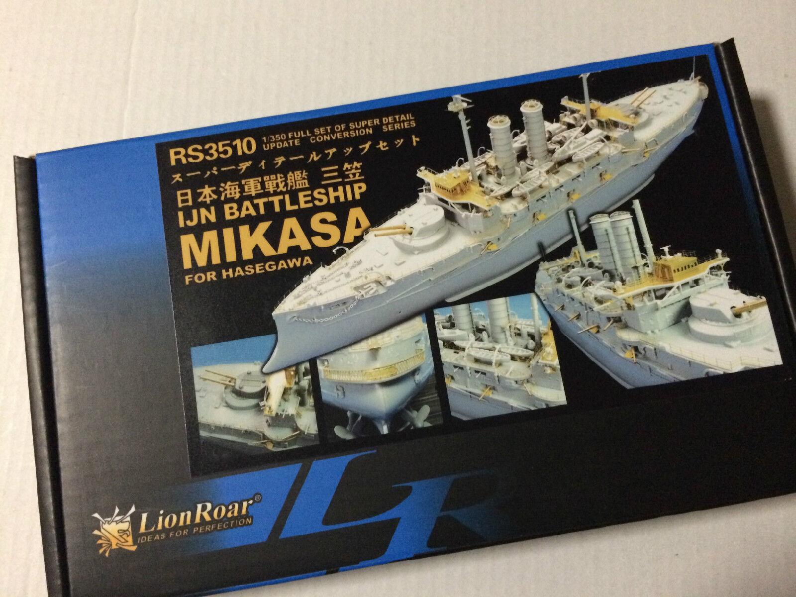 Lionroar 1 350 RS3510 IJN Battleship Mikasa for Hasegawa