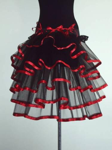 Store Fancydress Ceinture Blesle et Tutu Taille Burlesque Sexy Noire 16 Rouge 18 The 14 r6vO4r