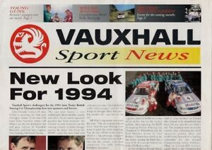 Vauxhall-Sport-News-Mid-1994-UK-Market-Brochure-Astra-Cavalier