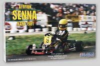 Ayrton Senna 1981 Racing Kart - 1/20 Fujimi Kit 9137 -