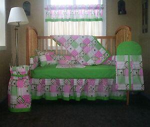 Image Is Loading 10 Pc John Deere Patchwork Baby Nursery Crib