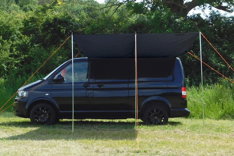 VW Campervan toldo   toldo solar - medianoche negro
