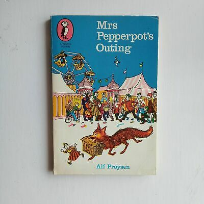 Sanft Vintage Book: Mrs Pepperpot's Outing Alf Proysen, puffin, 1980 Seien Sie Im Design Neu