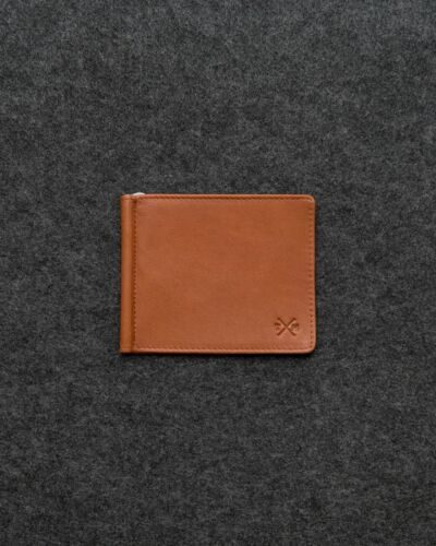 Gift Boxed Genuine Leather Money Clip Wallet Slim by Tumble and Hide