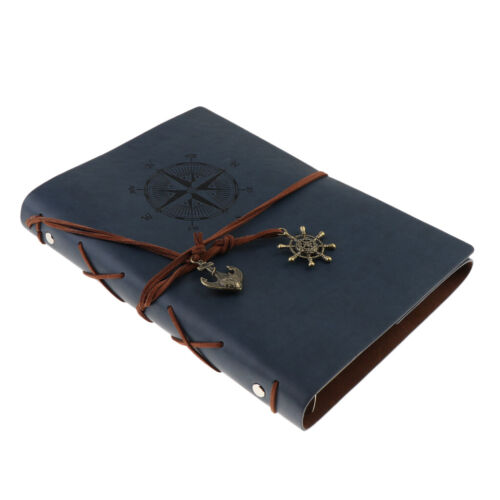 Travel Journal Notebook A5 Refillable Leather Journal Diary Blank Book
