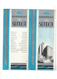 Hotel-Seneca-Rochester-Ny-Folleto-1930s-Art-Deco
