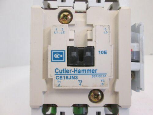 Cutler Hammer CE15JN3 Contactor