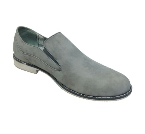 Mens Casual Office Shoes Slip On Italian Style Party Wedding Size New UK