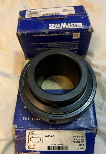 """NIB 2-18 1-1//2"""" Gold Line Sealmaster Bearing"""