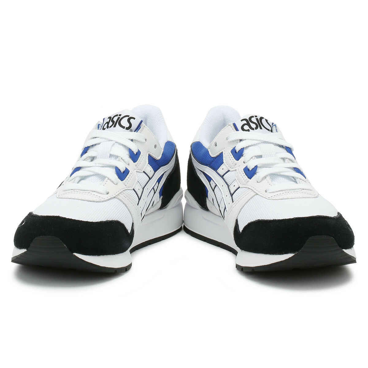 ASICS Gel-Lyte Unisex Trainers Weiß & & & Blau Sport Casual Running schuhe 30000b
