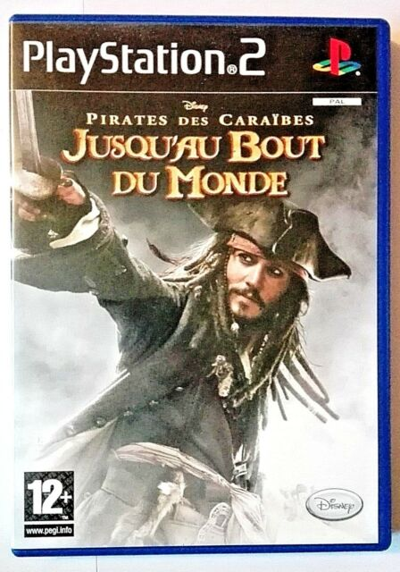 Pirates des Caraïbes Jusqu'au Bout Du Monde Disney - PlayStation 2 PS2