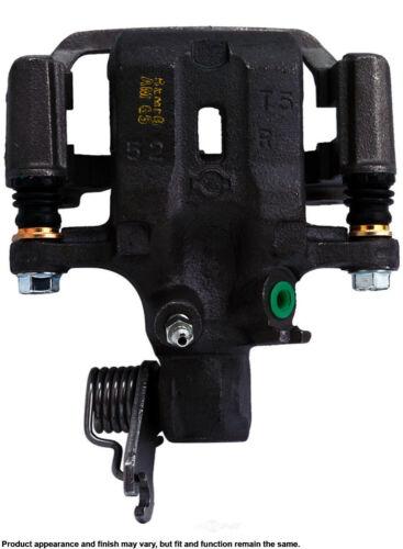 Disc Brake Caliper-Unloaded Caliper with bracket Rear Right Cardone Reman