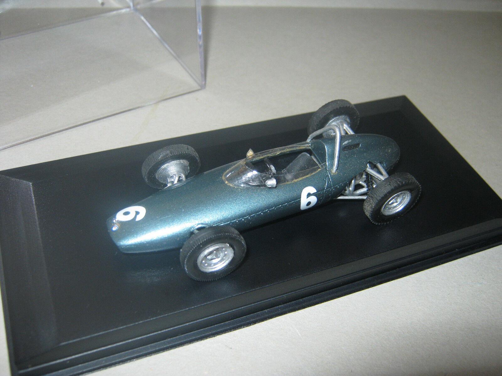 1 43 Brm p57 G. Hill Monaco GP Winner 1963 HANDBUILT MODELCAR dans Showcase Top